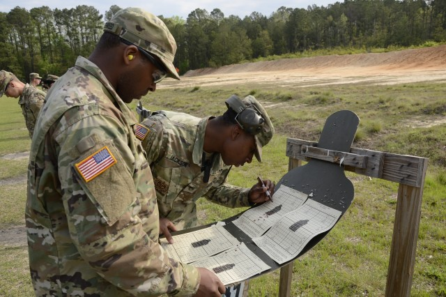 Still in the Red Phase, Soldiers in training with 3rd Battalion, 34th Infantry Regiment visit the ranges at Fort Jackson and practice for the first time firing live ammo in their M4 carbines. Soldiers must learn breathing techniques, stance and mechanics before they are allowed to fire a single round.