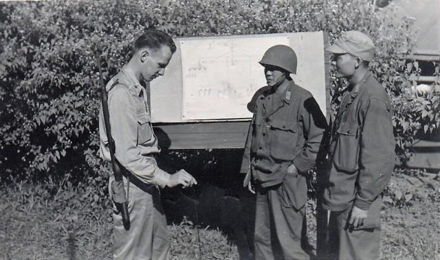 World War II communications briefing