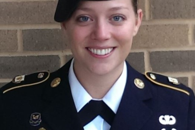 Staff Sgt. Sarah Hawley, a paralegal noncommissioned officer with the U.S. Army Reserve Legal Command is the 2017 recipient of the Sergeant Eric L. Coggins Award for Excellence.