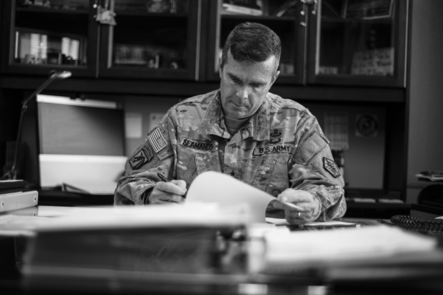 Seamands reflects on time spent at HRC and the way ahead for the Army