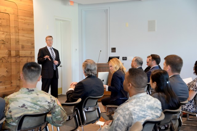 "Timothy Goddette, deputy program executive officer for Soldier and guest speaker, highlighted the value of the CDG/AAF program. ""This is a program we need because of the opportunities it provides you to develop yourself,"" he reminded the graduates."