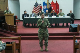 We are moving: USAG Yongsan updates service members, families on transformation and relocation