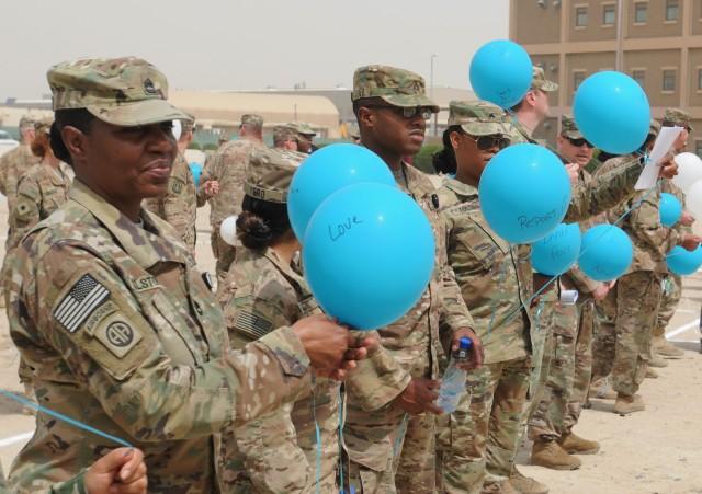 Staying SHARP - Camp Arifjan Raises Sexual Violence Awareness