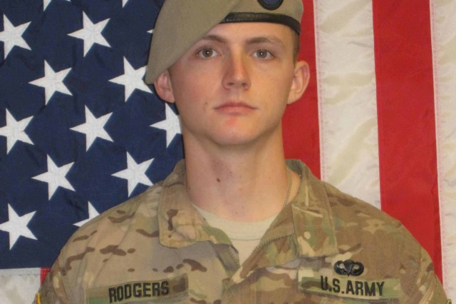 Sgt. Joshua P. Rodgers, 22, who was assigned to Company C, 3rd Battalion, 75th Ranger Regiment