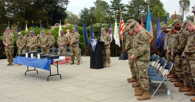 JCS senior enlisted advisor inducts new NCO's