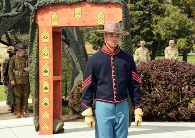 JCS senior enlisted advisor inducts new NCO's