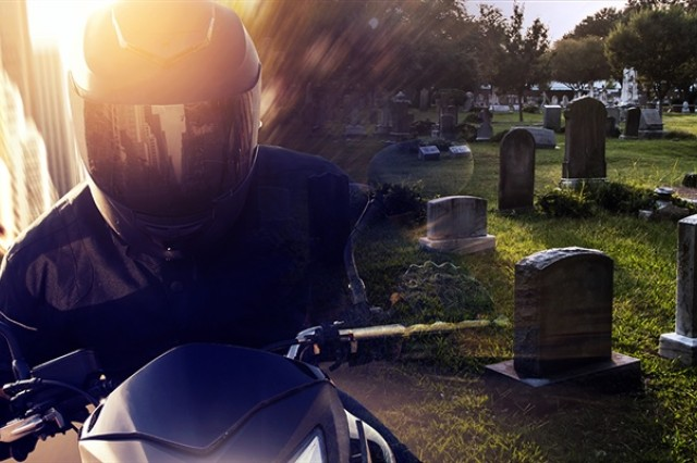 Each year, the National Highway Traffic Safety Administration designates May as Motorcycle Safety Awareness Month. The observance coincides with the beginning of riding season for many Soldiers and serves as an early kickoff for the critical days of summer. USACRC graphic design