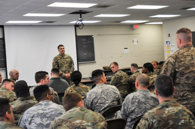U.S. Army Forces Command (FORSCOM) and National Guard Bureau (NGB) leadership visited with Soldiers of the South Carolina National Guard at the Hodges Training Site, Feb. 4, 2017. U.S. Army Brig. Gen. David Isaacson, FORSCOM Deputy Chief of Staff - Signal, and U.S. Army Col. Bob Quinker, NGB - Signal, and fellow senior staff members toured the state's recently established tactical training base, providing field conditions supporting tactical training for company and battalion-sized elements.