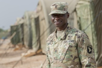 African-born officer gets back to his roots with Cameroon mission