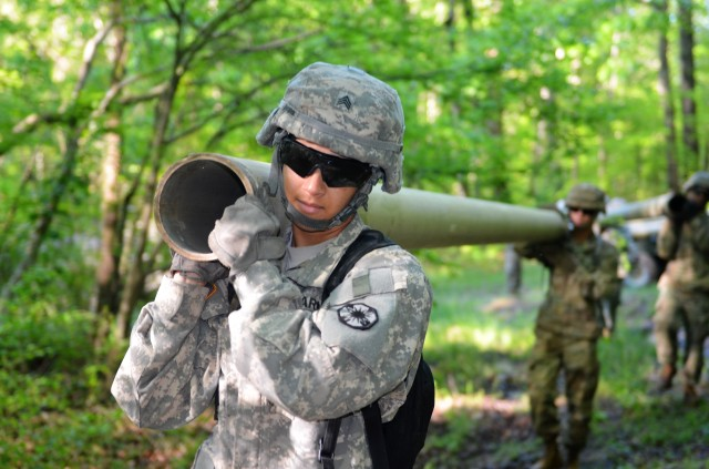 53rd Quartermaster Company builds pipeline with Reserve partners at Fort Pickett, Virginia