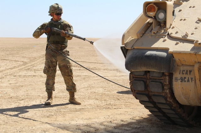 'Greywolf' Troopers Validate Squadron's Ability to Sustain Operations - Operation Spartan Shield unit showcases capabilities