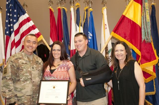 1st Armored Division Artillery recognizes volunteers