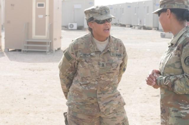 Maryland Adjutant General Visits Deployed Soldiers