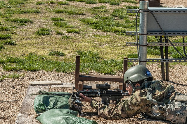 Soldiers can better control their attention, maintain confidence and minimize distractions during marksmanship using the skills taught in resiliency training.