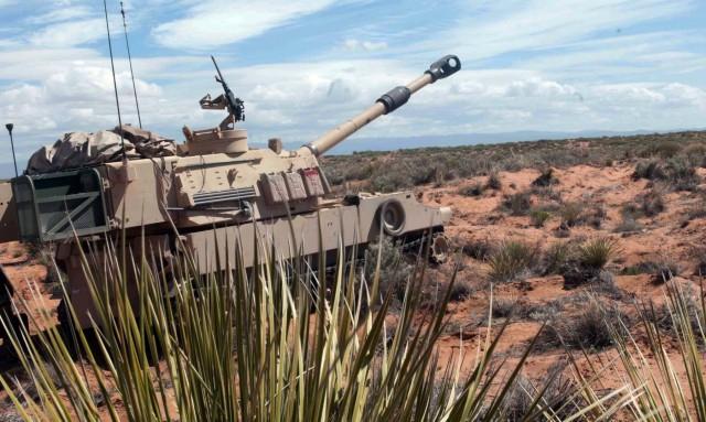 4-27 FA BN, 1st Armored Division participates in Iron Focus