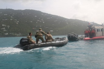 Special Forces conduct training for disaster exercise