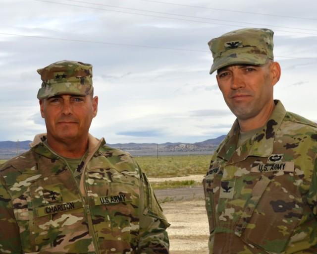 Maj. Gen. Charlton visit to Dugway