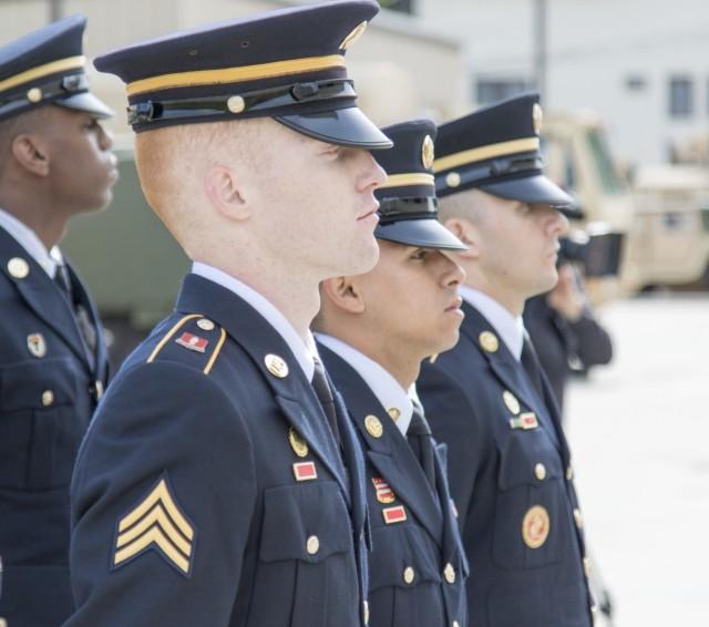 Army Guard funeral honor guard members hone advanced skills during two-week training