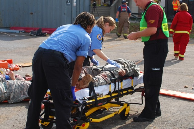EMS personnel train for real world emergencies so they can maintain proficiencies in the skills needed to preserve life and reduce mortality of their patients. Additionally, after their initial training an EMT is required to attend 48 hours of training every two years and a paramedic is required to attend 72 hours of training every two years.