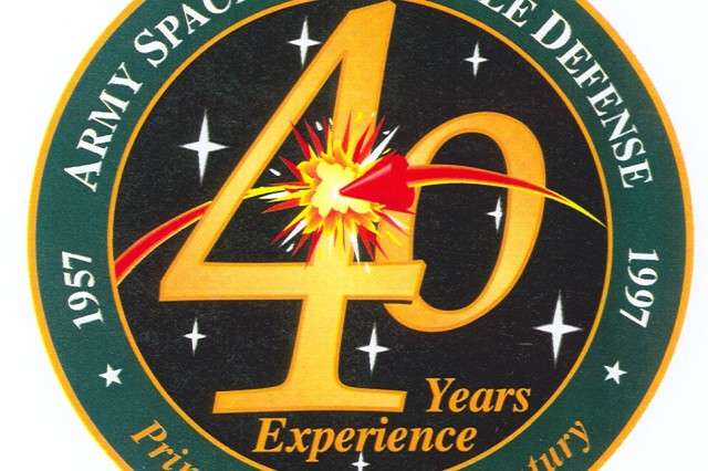 "Designed by graphics contractor Prime Source, the anniversary logo illustrates both command missions -- space and missile defense -- and while highlighting our history notes that the command is ""Primed for the 21st Century."""