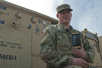 New Jersey National Guard Soldier riding the slopes of freedom, sacrifice