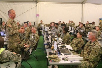 184th Sustainment Command leads Joint Task Force-Magnolia at NTC 2017