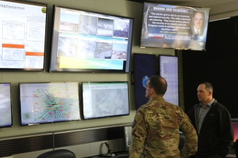 Army cyber unit envisions training, partnership opportunities at Indiana Urban Training Center