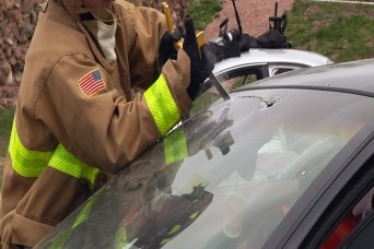 South Dakota Army Guard firefighters train and prep for deployment