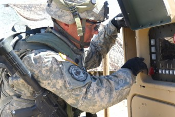106th Support Battalion sets up operational area at NTC