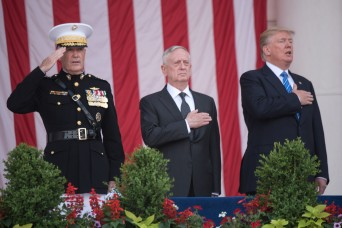 President leads nation's remembrance on Memorial Day