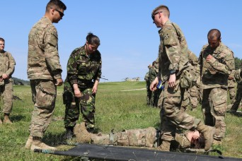 Medics from 5 nations collaborate on first-class field care