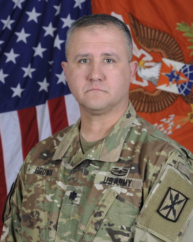 Lieutenant Colonel Bryon J. Brown