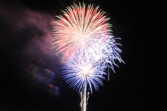 A scene from the fireworks show at last year's Freedom Fest. This year's event is scheduled for June 30.