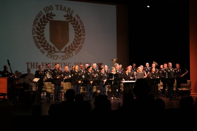 'Big Red One' Band Spring Concert Series celebrates 100 years of music and history