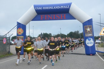 USAG RP celebrates Army 242nd birthday with 5K run