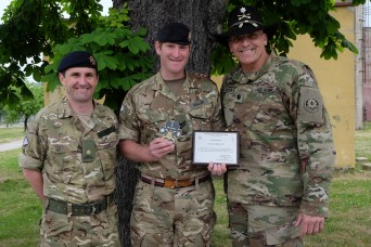 Battle Group Poland demonstrates heroism, service to local civilians