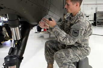 South Dakota Army National Guard mechanics play vital role in aviation support