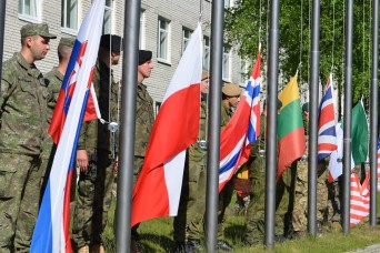 Saber Strike 17 Opens in Latvia