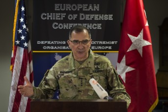 Maintaining peace in Europe: EUCOM, SHAPE senior enlisted leaders work together