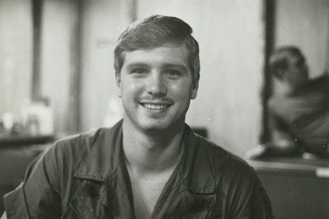 U.S. Army Pfc. James McCloughan, 1969.