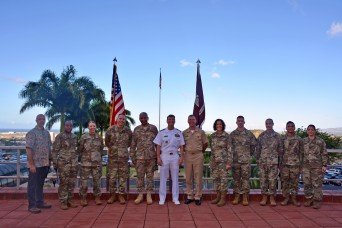 Physician to the President of the United States recognizes Tripler personnel