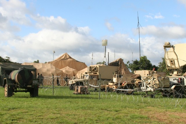 Aiding in the Army's quest to become more expeditionary, the 2nd Brigade Combat Team, 25th Infantry Division supported an Army Secure Wireless risk reduction event at Schofield Barracks, Hawaii, in August 2016, securely running the capability on a live open network for the very first time.