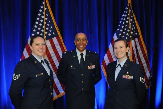 87th Medical Support Squadron Commander, Lt. Col. John Dalomba, joins Staff Sgt. Brandi Robertson and Staff Sgt. Jacquelyn Chapin, 87th Med. Spt. Airmen who are attending the first class rotation which began Jun. 5.  On June 5, 2017, Hackensack University Medical Center and the U.S. Army Reserve announced the formation of Operation Hackensack S.M.A.R.T. (Strategic Medical Asset Readiness Training), an innovative, first-of-its-kind partnership which focuses on high-quality, individualized specialty medical training for service members to improve their knowledge, skillsets and increase soldier readiness.  Soldiers will partner with their civilian counterparts at Hackensack University Medical Center for 14 days of immersion training utilizing cutting-edge technology, at no additional cost to the government. This innovative relationship will contribute to superior readiness and in-depth training within the medical ranks. It will also provide critical knowledge sharing between military and civilian medical professionals about best practices, techniques and procedures to ensure military service members are trained to use the most current technology in today's rapidly changing health care landscape.