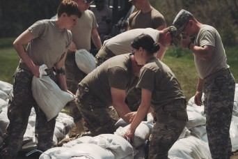 New York National Guard fills over 400,000 sandbags and keeps working as Lake Ontario overflows