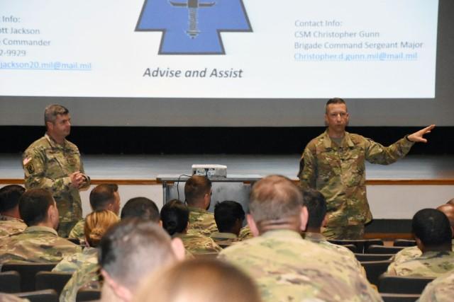 1st Security Force Assistance Brigade leadership visits Fort Bragg, N.C.