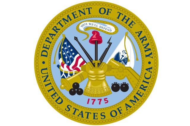 U.S. Army Seal.