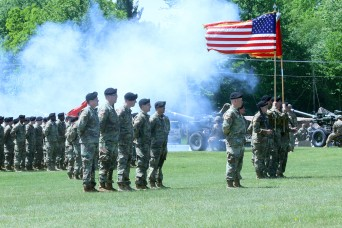 Soldiers at Fort Drum celebrate 15th Field Artillery Regiment centennial