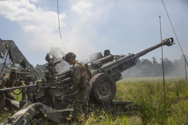 two m777a2 howitzers arrive in india article the united states army rh army mil Newest Howitzer M777 Howitzer Projectile Velocity