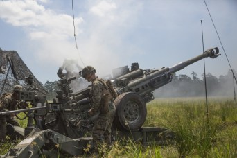 Two M777A2 howitzers arrive in India