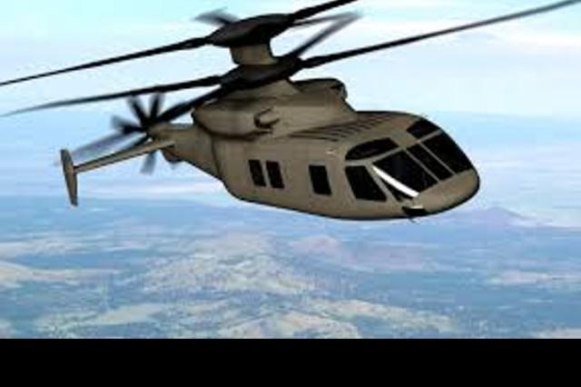 Sikorsky-Boeing SB>1 Defiant, Artist Rendering